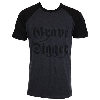 tričko pánské GRAVE DIGGER - Charcoal/Black, Grave Digger