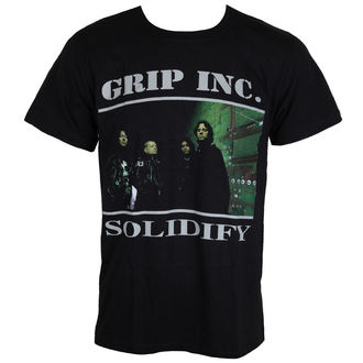 tričko pánské GRIP INC. - Solidify - MASSACRE RECORDS, MASSACRE RECORDS, Grip Inc.