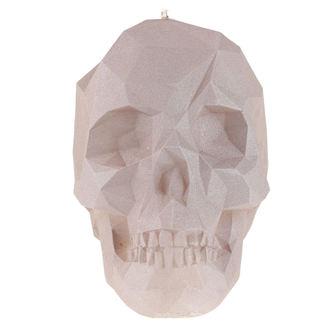 svíčka Skull - Gray