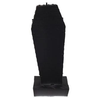 svíčka Coffin with Cross - Black Matt