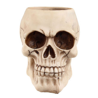 držák na láhev (dekorace) Skull