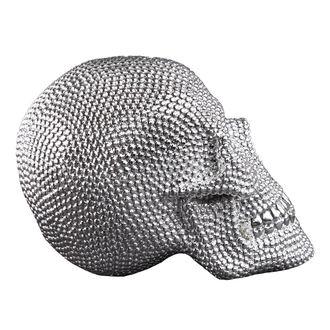 dekorace Skull - Silver - 78/5744