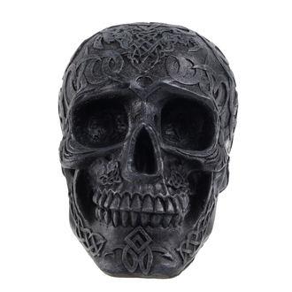 dekorace (pokladnička) - Mystic Ornament Skull - Black, NNM