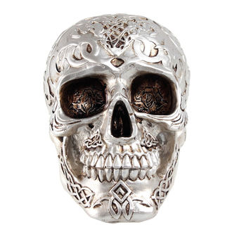 dekorace (pokladnička) Mystic Ornament Skull - Silver, NNM
