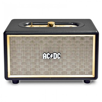 reproduktor AC/DC - CLASSIC CL2 VINTAGE PORTABLE BLUETOOTH SPEAKER - BLACK, AC-DC