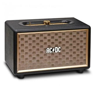 reproduktor AC/DC - CLASSIC CL2 VINTAGE PORTABLE BLUETOOTH SPEAKER - BLACK