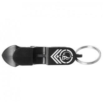 klíčenka (otvírák na láhve) METAL MULISHA - SHOTGUNNER - BLK, METAL MULISHA