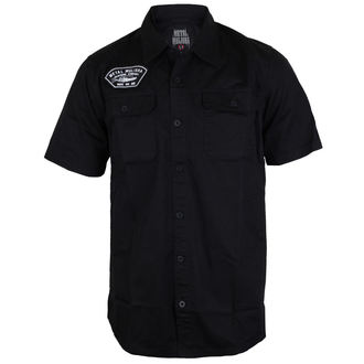 košile pánská METAL MULISHA - PITS - BLK - BLK_SP7504004.01