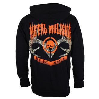 mikina pánská METAL MULISHA - DUSK - BLK, METAL MULISHA