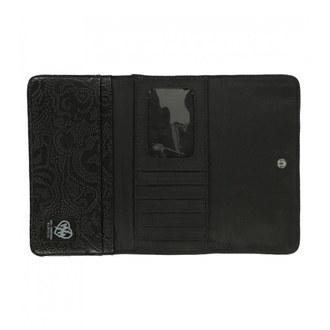peněženka METAL MULISHA - ROUND UP - BLK