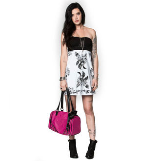 šaty dámské METAL MULISHA - REMORSE - WHT - WHT_SP7716003.01
