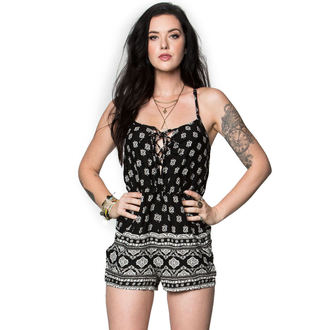 overal METAL MULISHA - TONIGHT ROMPER - BL