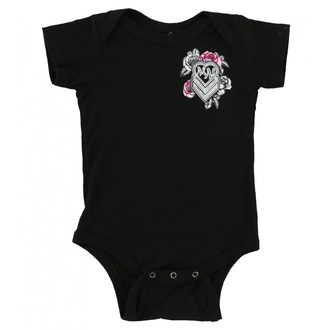 body dětské METAL MULISHA - BABY GIRL ONESIE - BLK, METAL MULISHA