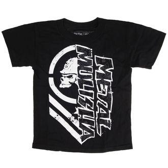 tričko dětské METAL MULISHA - BURN - BLK_SP7L18002.01