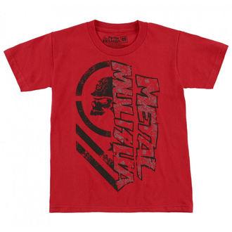 tričko dětské METAL MULISHA - BURN, METAL MULISHA