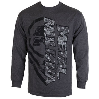 tričko pánské s dlouhým rukávem METAL MULISHA - BURN - CHH, METAL MULISHA