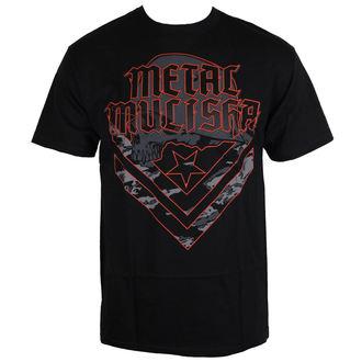 tričko pánské METAL MULISHA - CAM - BLK - BLK_SP7518018.01