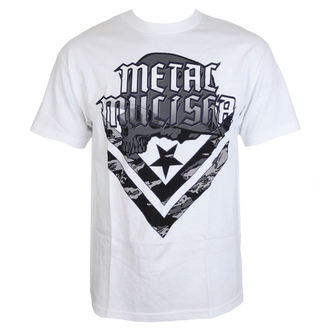tričko pánské METAL MULISHA - CAM - WHT - WHT_SP7518018.01