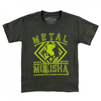 tričko dětské METAL MULISHA - DUST - CHA_SP7L18003.01