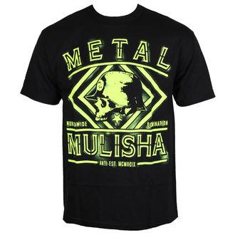 tričko pánské METAL MULISHA - DUST - BLK, METAL MULISHA