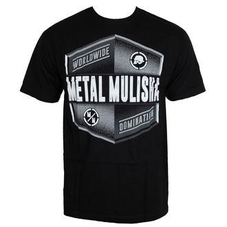 tričko pánské METAL MULISHA - EMBLEM - BLK, METAL MULISHA