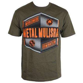 tričko pánské METAL MULISHA - EMBLEM - MGN, METAL MULISHA