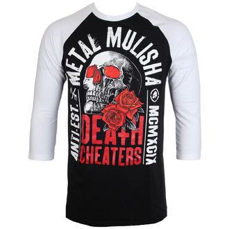 tričko pánské s 3/4 rukávem METAL MULISHA - EPITAPH - BLW, METAL MULISHA