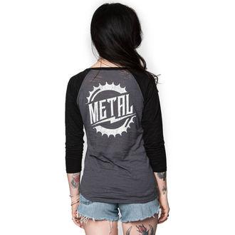 tričko dámské s 3/4 rukávem METAL MULISHA - RIDER BURNOUT, METAL MULISHA