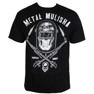 tričko pánské METAL MULISHA - TORCHED - BLK, METAL MULISHA