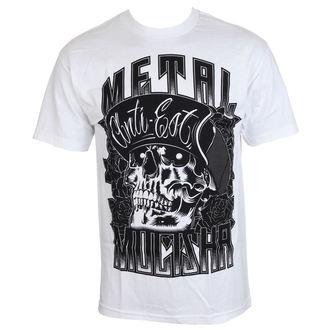 tričko pánské METAL MULISHA - WOODCUT - WHT, METAL MULISHA
