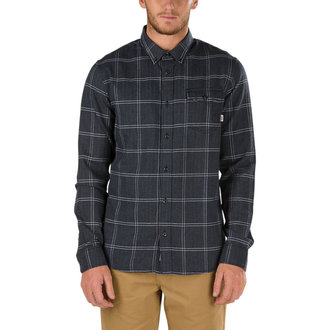 košile pánská VANS - SEIBERT - BLACK, VANS