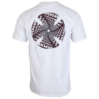 tričko pánské INDEPENDENT - Spiral White, INDEPENDENT