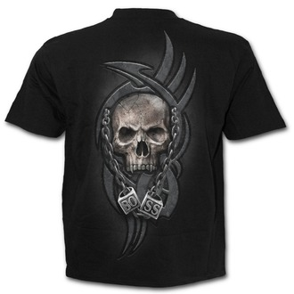 tričko pánské SPIRAL - BOSS REAPER - Black - T138M101