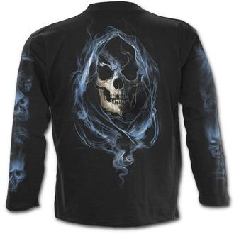 tričko pánské s dlouhým rukávem SPIRAL - GHOST REAPER - Black - K039M301