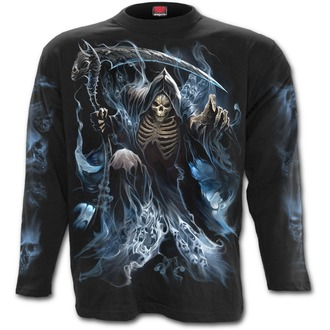 tričko pánské s dlouhým rukávem SPIRAL - GHOST REAPER - Black, SPIRAL