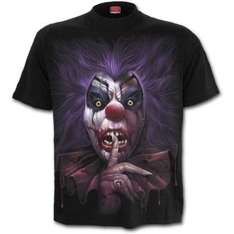 tričko pánské SPIRAL - MADCAP - Black - K041M101