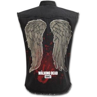 košile bez rukávů pánská SPIRAL - DARYL WINGS - Walking Dead Stone, SPIRAL