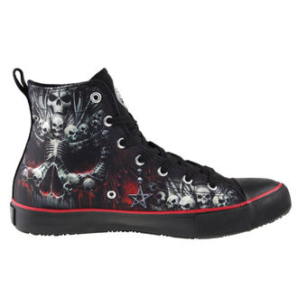 boty pánské SPIRAL - DEATH BONES - Sneakers - T126S001