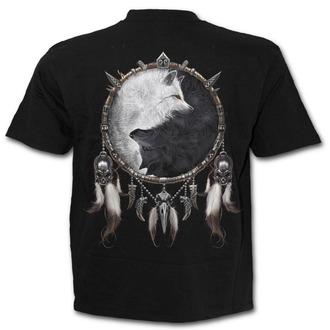 tričko pánské SPIRAL - WOLF CHI -  Black, SPIRAL