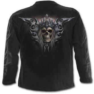 tričko pánské s dlouhým rukávem SPIRAL - DEATH'S ARMY - Black - T129M301