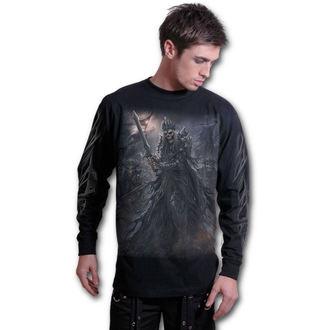 tričko pánské s dlouhým rukávem SPIRAL - DEATH'S ARMY - Black