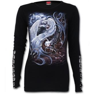 tričko dámské s dlouhým rukávem SPIRAL - YIN YANG