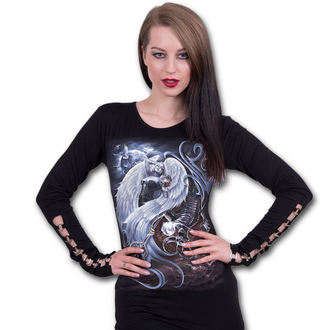 tričko dámské s dlouhým rukávem SPIRAL - YIN YANG - L032F459