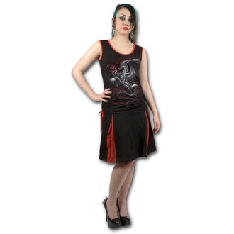 tílko dámské SPIRAL - DRAGON ROSE - Red Black