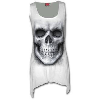 šaty dámské (top) SPIRAL - SOLEMN SKULL - White - S012F115