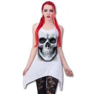 šaty dámské (top) SPIRAL - SOLEMN SKULL - White, SPIRAL