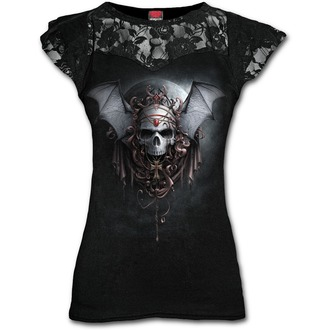 tričko dámské SPIRAL - GOTH NIGHTS - Black, SPIRAL