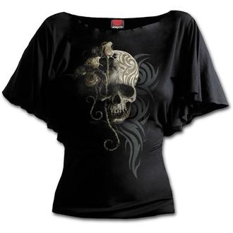 tričko dámské SPIRAL - DARK ANGEL - Black