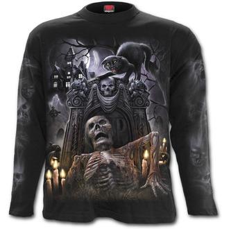 tričko pánské s dlouhým rukávem SPIRAL - LIVING DEAD - Black