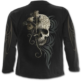 tričko pánské s dlouhým rukávem SPIRAL - DARK ANGEL - Black - L033M301